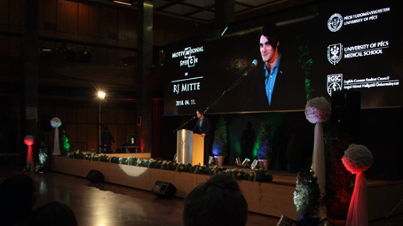 RJ Mitte – 'Disability does not discriminate'