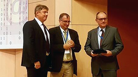 Krepuska Géza díjat kapott dr. Gerlinger Imre professzor