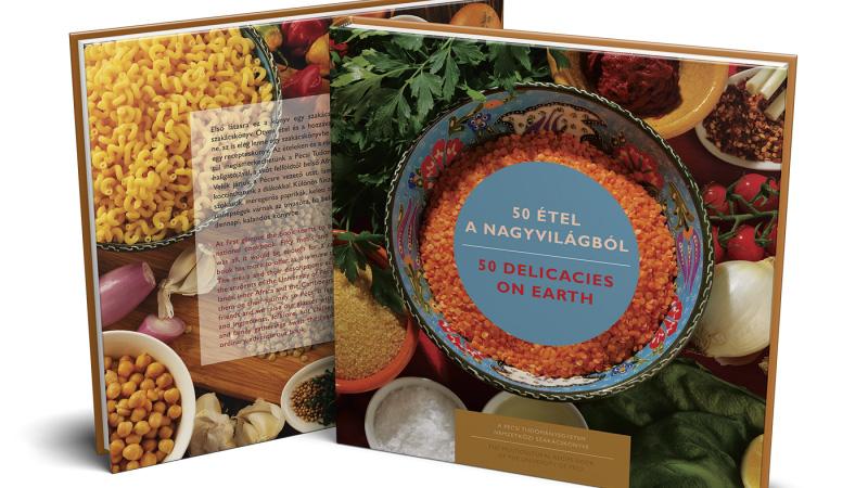 Már kapható a Pécsi Tudományegyetem multikulturális receptkönyve