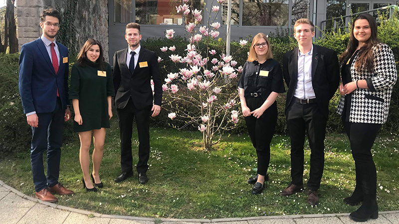 ENSZ magyar ifjúsági küldöttválasztás - Sparks Jason, ötödéves hallgatónk a győztes