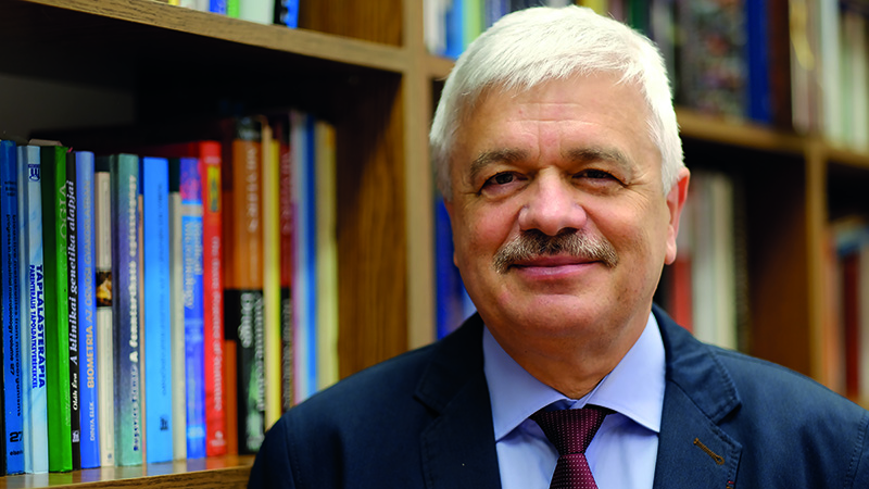 Dr. Lajos Botz is the new dean of the Faculty of Pharmacy