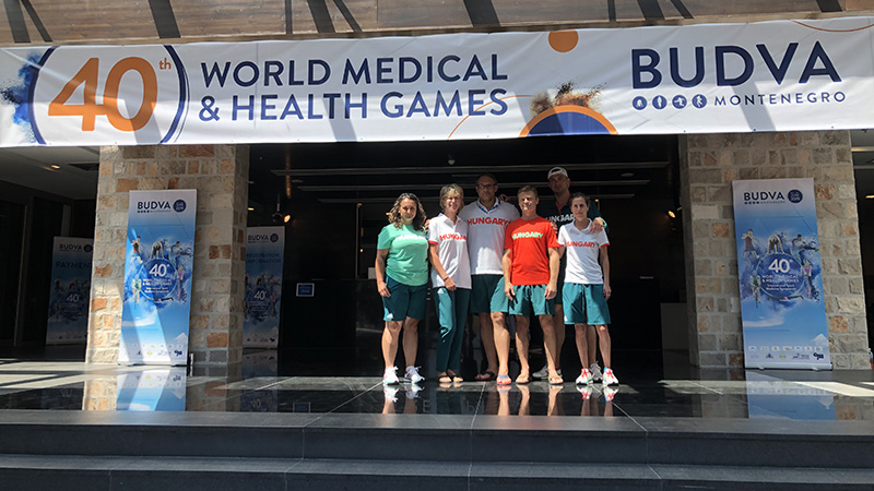 12 gold, 10 silver and one bronze medal on Medigames