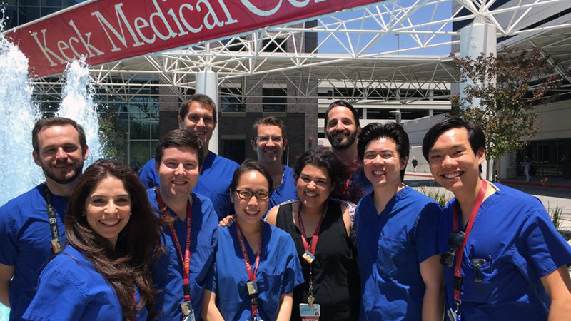 Sixth-year students' professional practice at the clinics of the University of Southern California