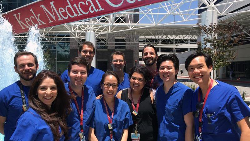 Hatodévesek szakmai gyakorlata a University of Southern California klinikáin
