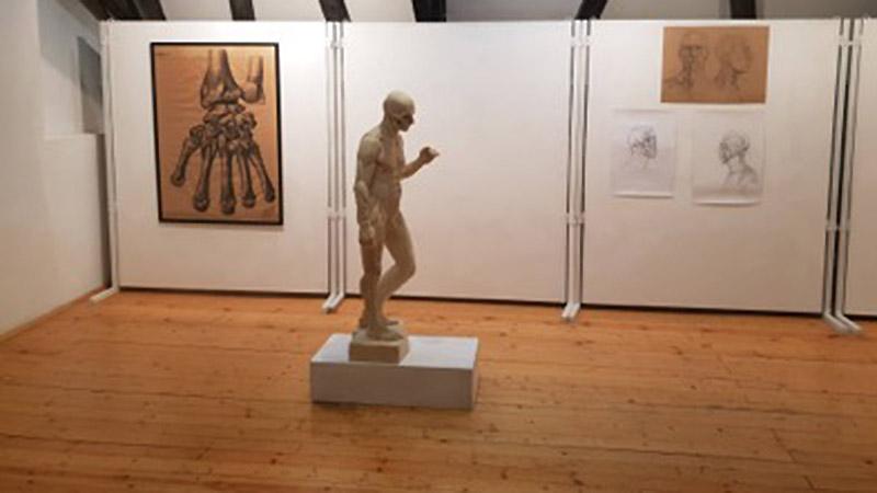 """""""A láthatatlan test"""" - képzőművészeti és orvosanatómiai kiállítás és előadás"""