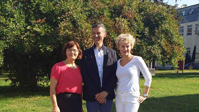 Az eszéki egyetem vendégprofesszora lett dr. Molnár Tihamér