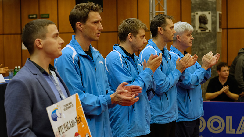 Bejutott az Európa-kupa negyedik szakaszába a PTE-PEAC férfi asztalitenisz csapata