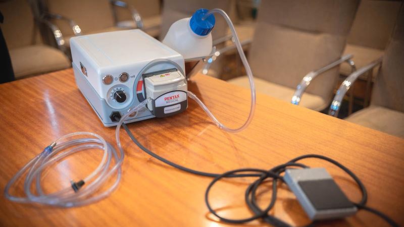 Új öblítőpumpával bővült a pécsi gyermekklinika eszközparkja