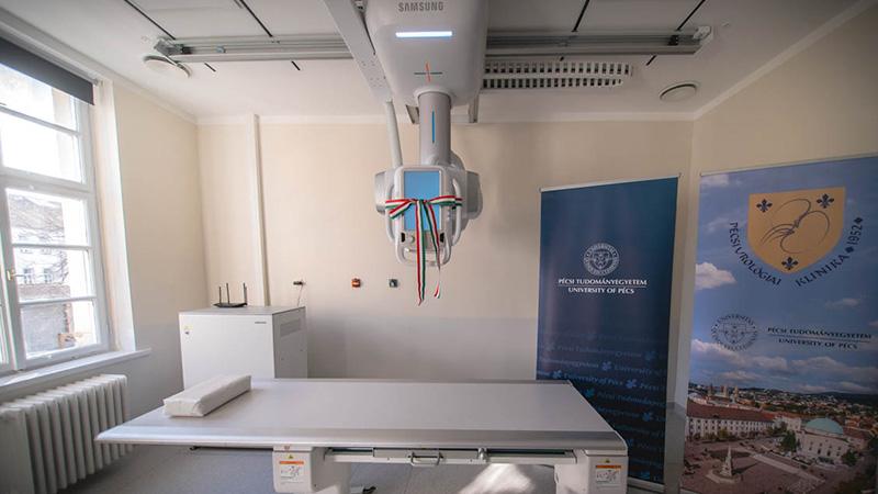Új, digitális röntgen az Urológiai Klinikán