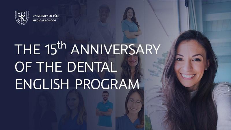 The 15th anniversary of the Dental English Program