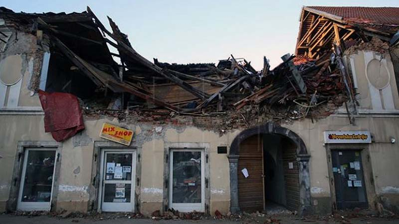 UP helps victims of the Croatian earthquake – help if you can too!