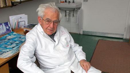 �nnepi besz�lget�s a 88 �ves dr. Mess B�la<br/> emeritus professzorral
