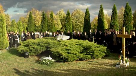 Az Anat�miai Int�zet temet�i megeml�kez�se