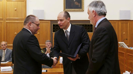 Prof. Dr. Gerlinger Imre kapta a Vilmos püspök-díjat
