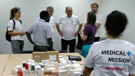 Afrikai gyógyító misszió