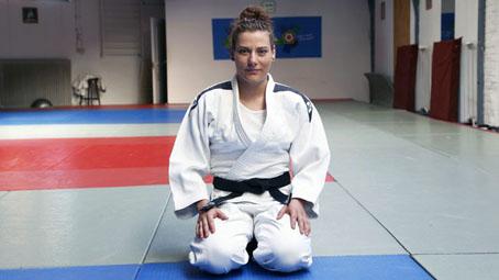 Knetig Emőke hallgatónk judo sikere az országos bajnokságon