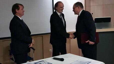 Dr. Gerlinger Imre professzor kapta a MOTESZ 2017. évi díszoklevelét