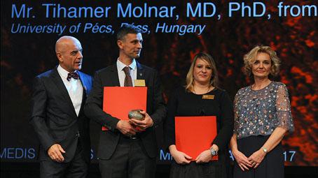Dr. Tihamér Molnár received a prestigious international award