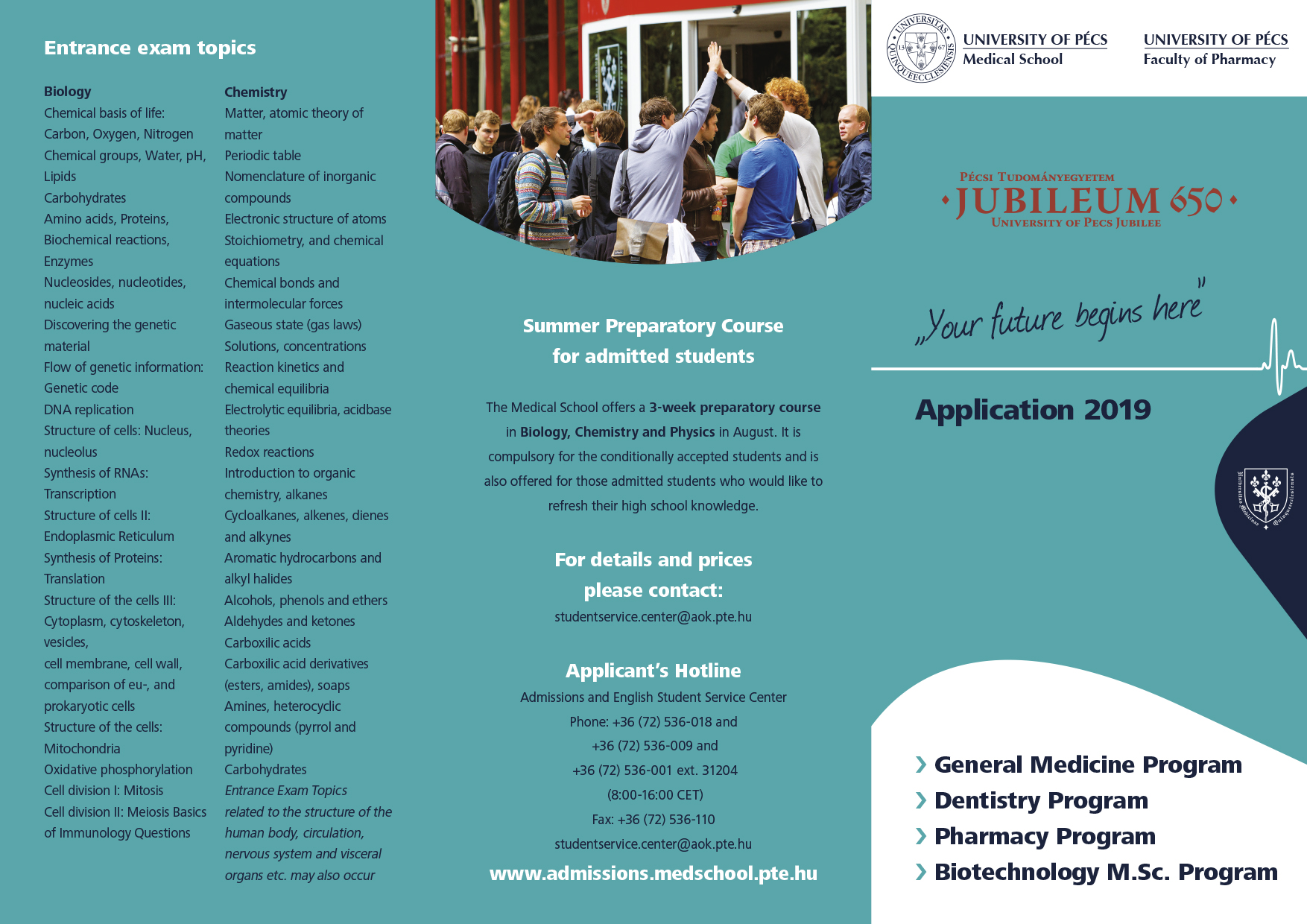 BMAT for Medical School Admission