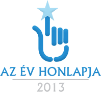 Az év honlapja logó