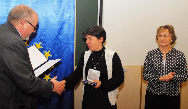 Dr. Mayer Klára Societas Pharmaceutica Hungarica kitüntetésben részesült