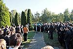 Az Anatómiai Intézet temetői megemlékezése