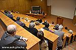 Sitzung der Professoren