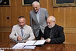 Unterzeichnung einer Vereinbarung zwischen UP MF und Ungarischem Baptist Aid