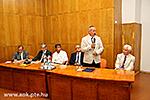 Fakultätsrat, Übergabe der Ernennungsurkunde an den Dekan