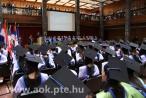 Graduierungszeremonie für Zahnärzte, Pharmazeuten und Medizinische Biotechnologen