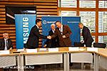 Vereinbarung zwischen UP MF und Samsung Electronics