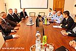 Besuch der Ungarischen Polizeihauptquartier an der UPMF