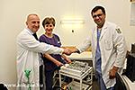 EGSC Spende an die Klinik für Nervenchirurgie