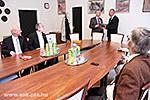 Besuch der Delegation aus Kaiserslautern an der UPMF