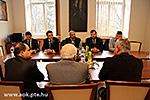 Besuch des makedonischen Botschafters