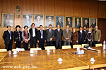 Visit of the Chinese delegation