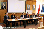 Press conference of the J.J. Strossmayer University and the UPMS