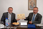 A Teaching and Cooperation Agreement signed betw. UPMS and the Hospital Szekszárd