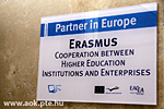 Erasmus multilateral project, a monitoring visit and press-release
