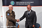 Agreement on cooperation between UPMS and NATO Centre of Excellence for Military Medicine